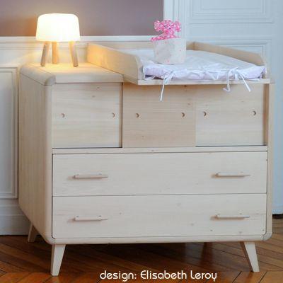 La commode bébé design Vogue de ZineZoé | Kids | Interior ...