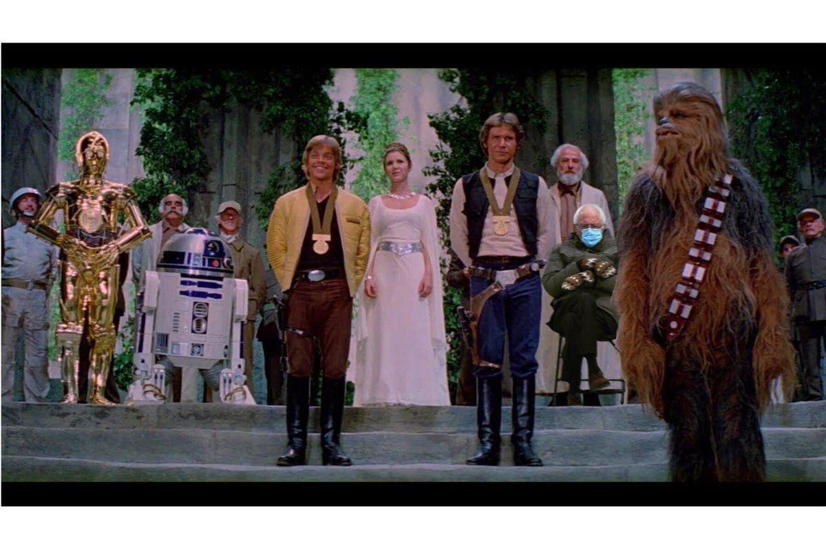 Star Wars Bernie In 2021 Mark Hamill Star Wars Bernie Sanders