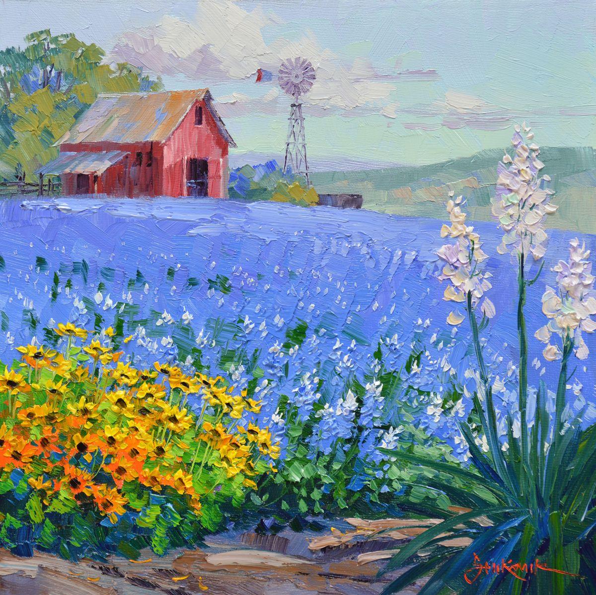 Resultado de imagen de bluebonnet paintings | Casas | Pinterest ...