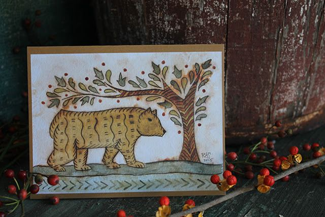 frakturs by k.a.s. New note cards coming September 21, 2015!
