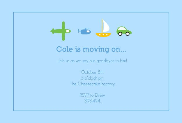 Party Invitation Wording For Going Away Party Httpwww - Party invitation template: going away party invitation templates