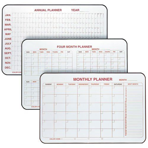 Whiteboard Calendars And Planners Dry Erase Planner Dry Erase