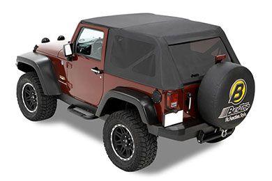 Bestop Trektop Jeep Wrangler Soft Tops In Stock Now Free Shipping