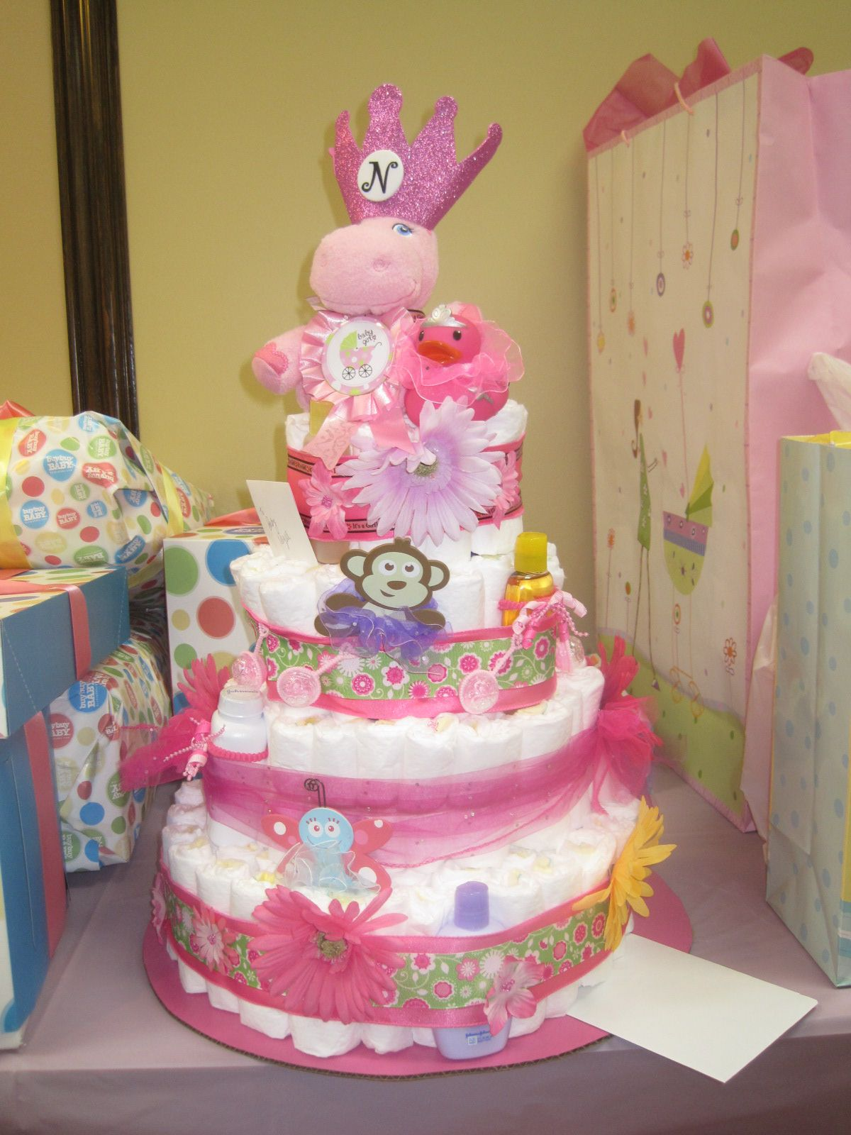 Pamper Party Cake Images : Living Room Decorating Ideas: Baby Shower Pamper Cake Ideas