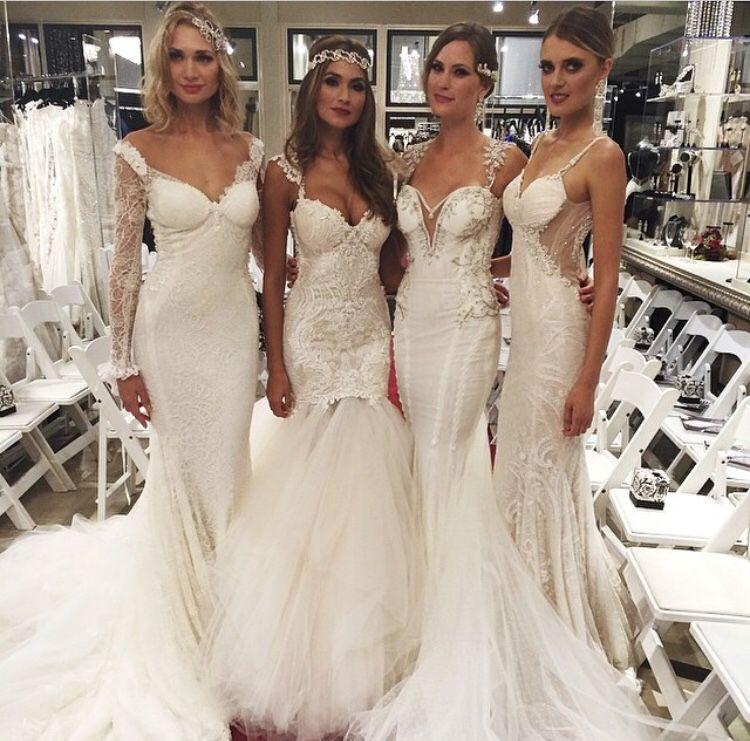 Loretta (2nd Dress From Left To Right) By Galia Lahav