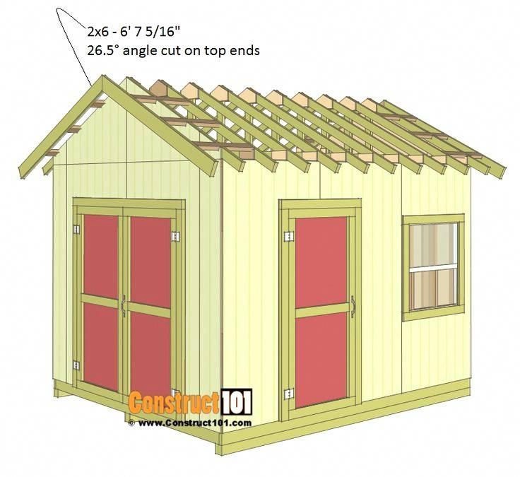 Garden Shed Designs Free Plans #backyardshed #shedprojects