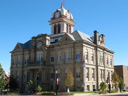 Carroll County Courthouse (Ohio) | Ohio's Historic