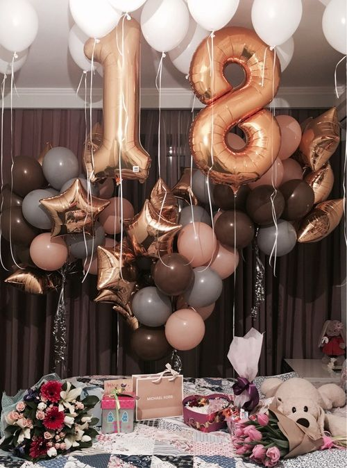 Balloons Surprise And 18 Image Party Ideas Decoration