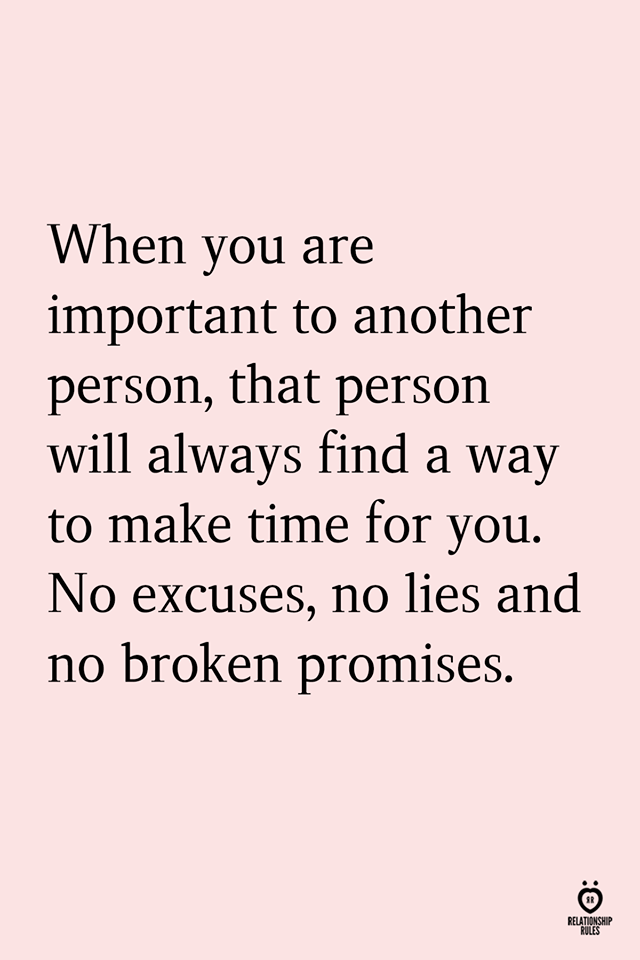 When You Are Important To Another Person