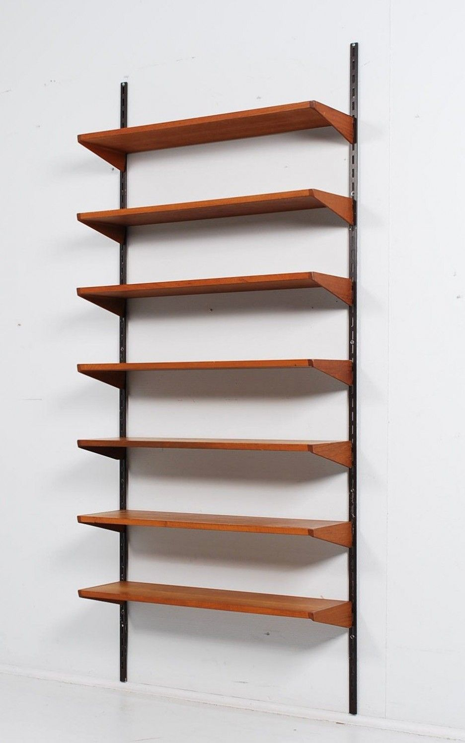 Diy Wood Wall Shelves To Get Those Bulky Bookcases Out