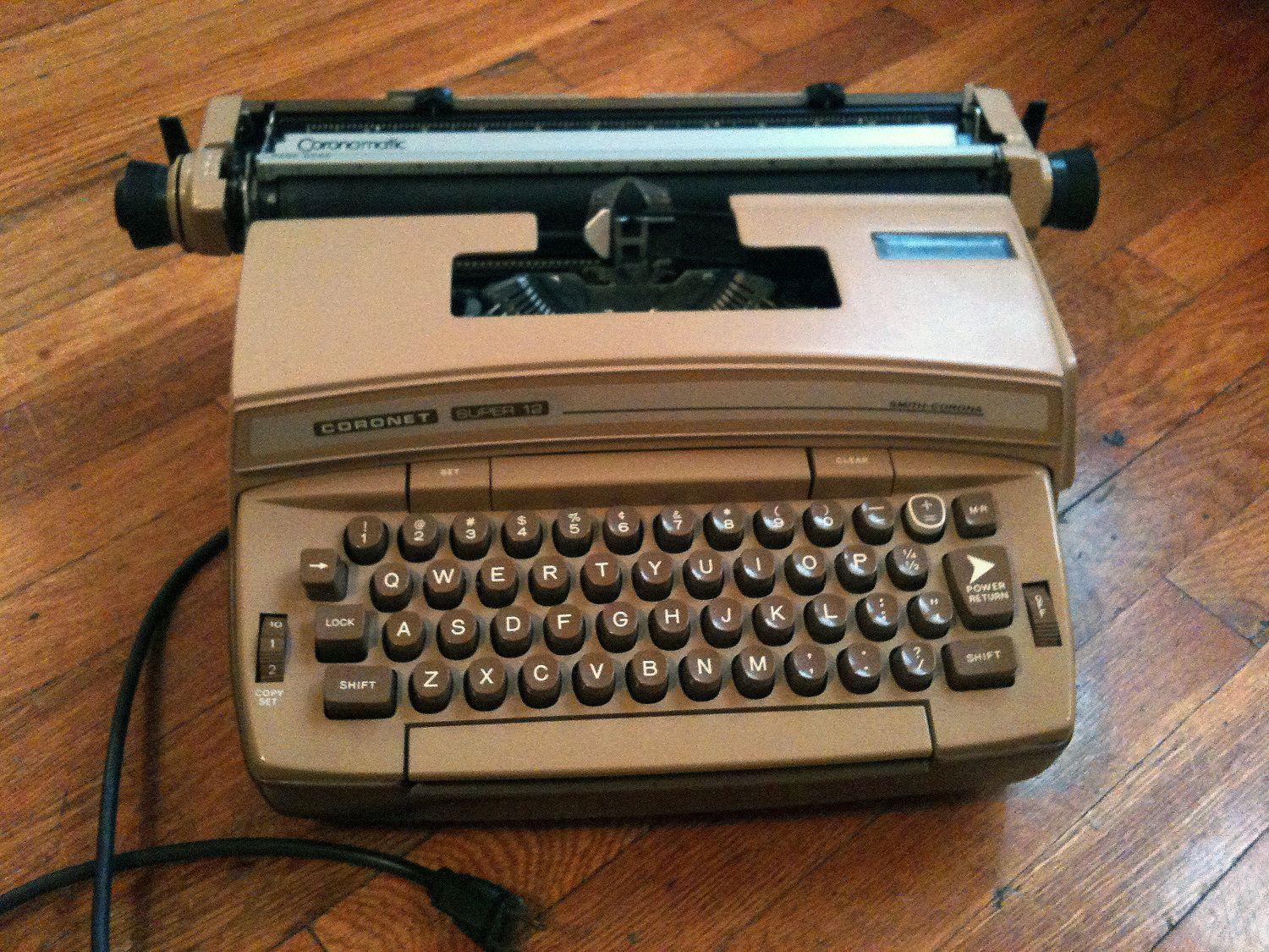 Also look for this typewriter from my shop in the upcoming film, Blood Ties with Mila Kunis and Clive Owen.  More from HomerowAperture: http://www.etsy.com/shop/HomerowAperture