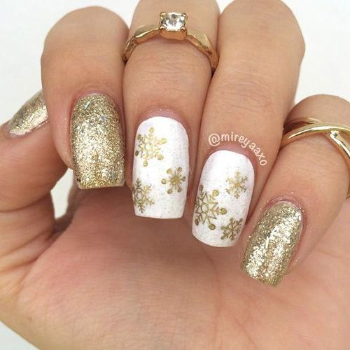 Best Winter Nails For 2018 45 Cute Winter Nail Designs Best Nail