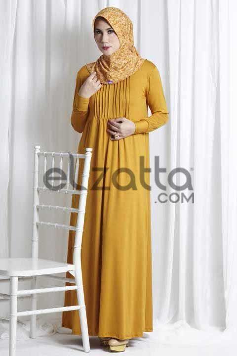 cb59619e213cfec2e3b73fcb6635311a model baju gamis syari terbaru elzatta agustus september oktober,Model Busana Muslim Elzatta