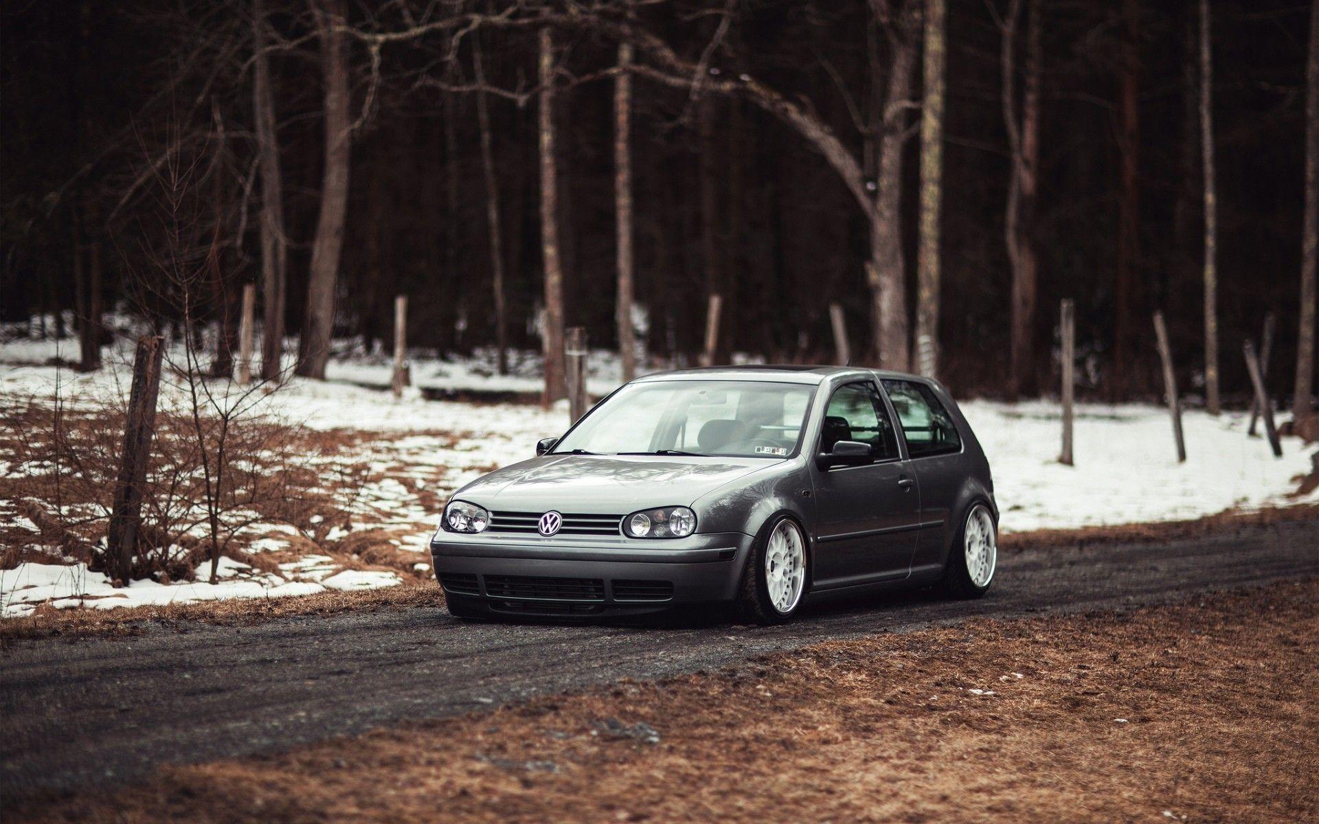 Mkiv Golf Iv Car Stance Volkswagen Gti Wallpaper Volkswagen Car Hd Hatchback