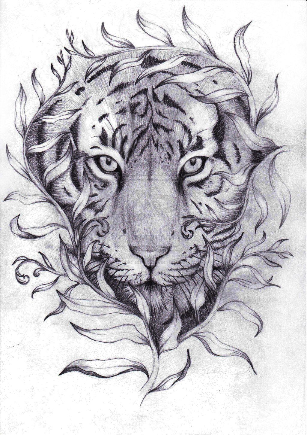 tiger tattoo designs google search coloring pinterest tiger tattoo design tiger tattoo. Black Bedroom Furniture Sets. Home Design Ideas