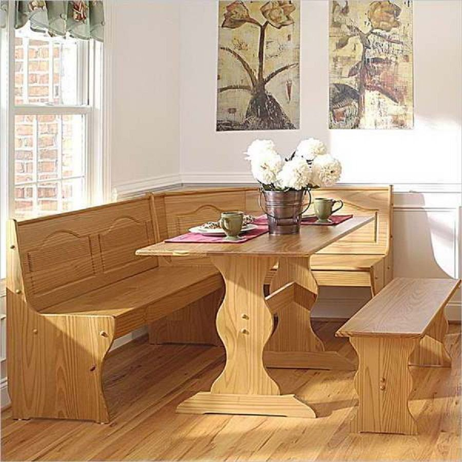 Wood Kitchen Booths