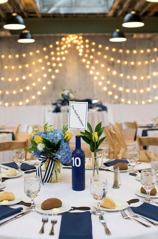 Bmore Kitchen Wedding Baltimore Catering Unique Centerpieces Table
