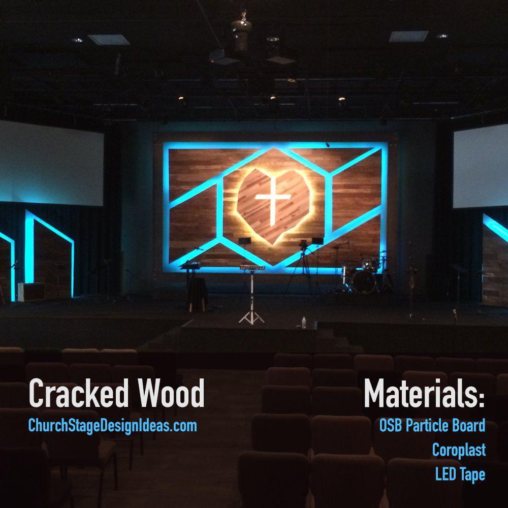 Pin by Rachel Parteko on Stage Design Ideas | Church stage