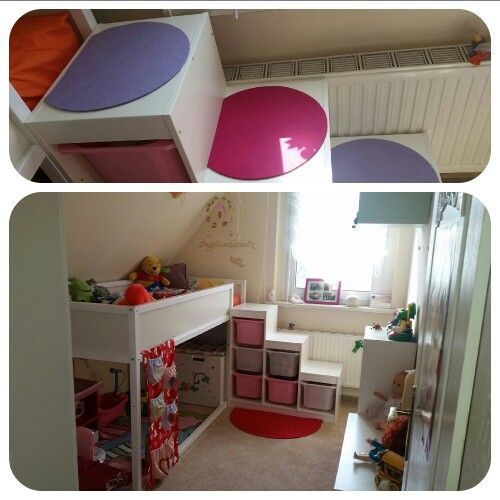 Trofastregal und Kura Bett | Kinderzimmer | Pinterest ... | {Kinderzimmer bett 75}