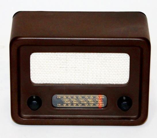 Nostaljik Radyo (Plastik Kasalı)