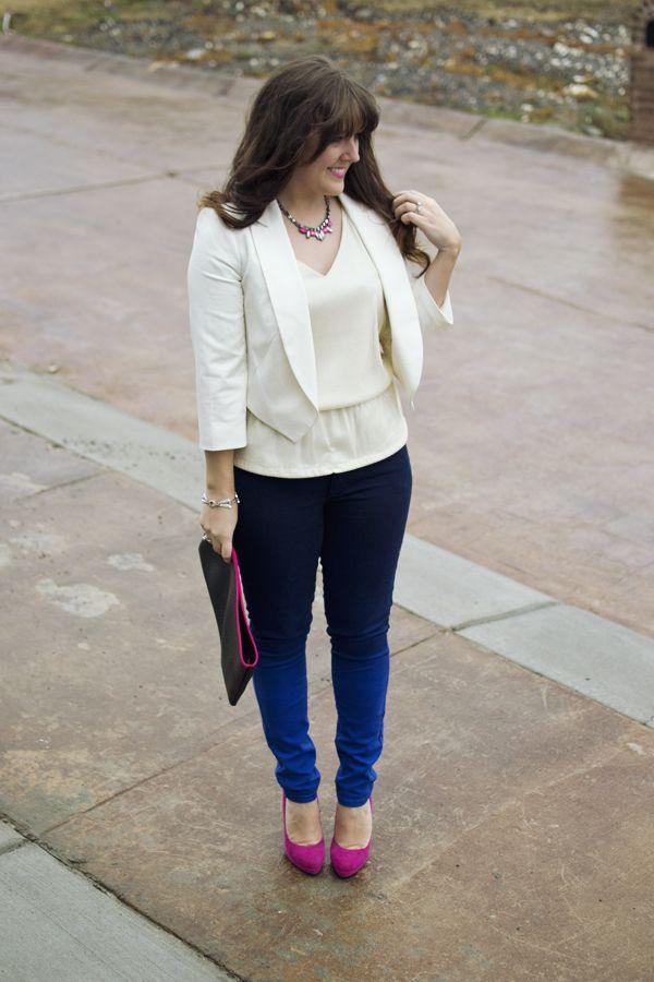 Elegante Outfits mit Jeans #chicsummeroutfits