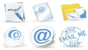 Icon set - Contemporary Mail Icons - Zizaza item for free