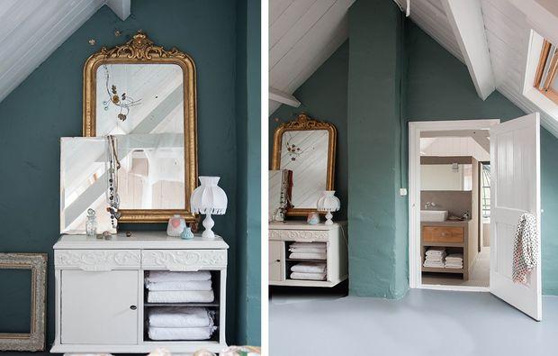 Come illuminare una stanza buia con il colore azzurro home decor