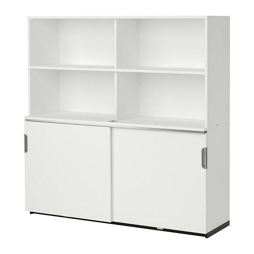 GALANT Mobile con ante scorrevoli - bianco - IKEA   Shop design