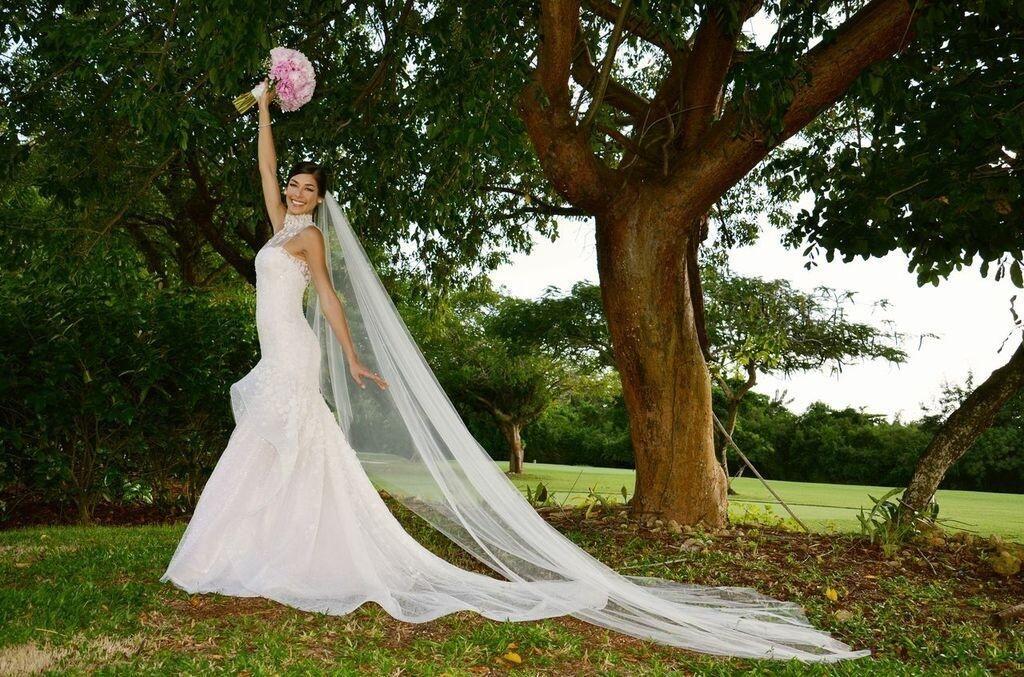 Vestido de novia dayana mendoza