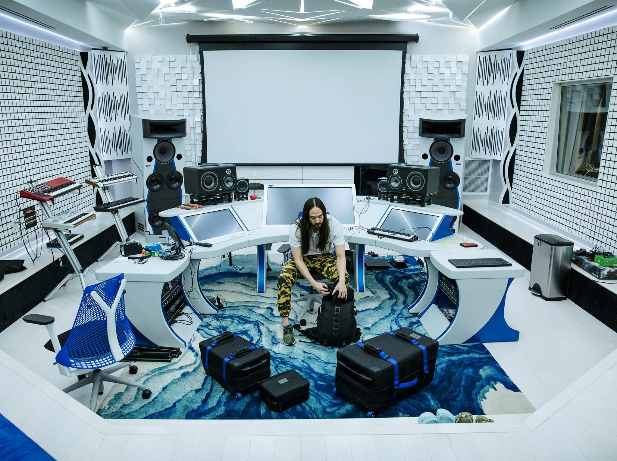 Steve Aoki\'s amazing studio   Spaces & Places   Pinterest   Studio ...