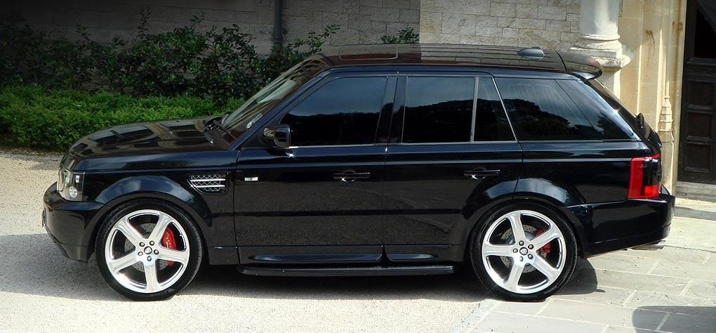 Not Big On The Sport But This Is A Nice One Range Rover Range Rover Sport Range Rover Sport Black