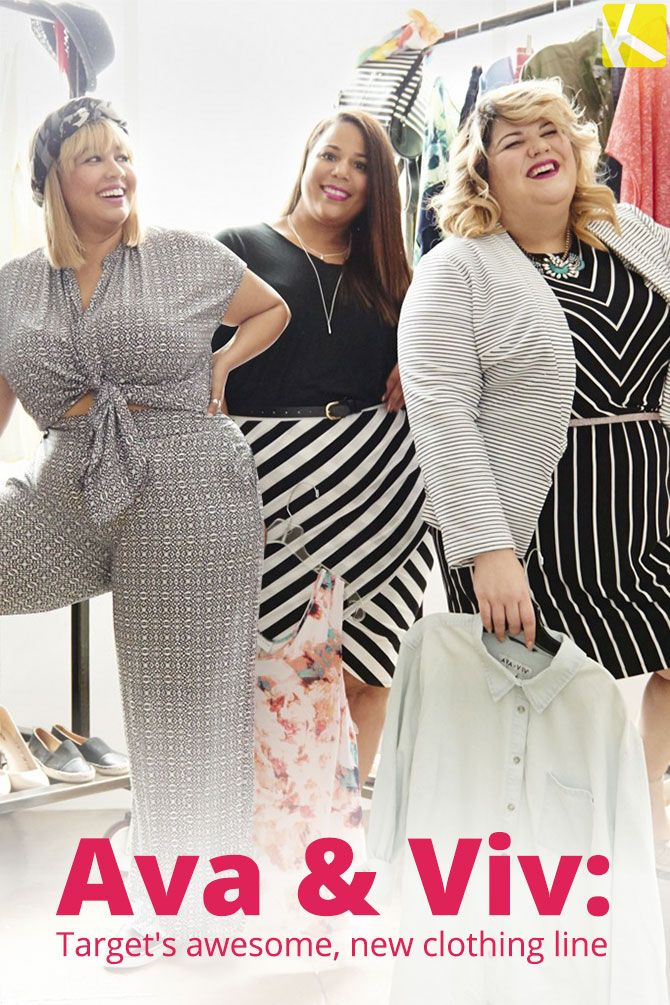 AVA & VIV: Target's New Plus-Size Clothing Line Features Uber-Chic ...