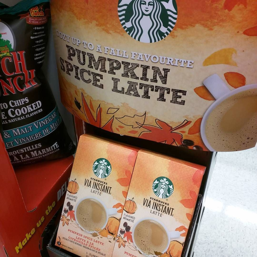 The lattes are turning to pumpkin. Fall is here! #PSL #YYC #yycfood #food #drink #delicious