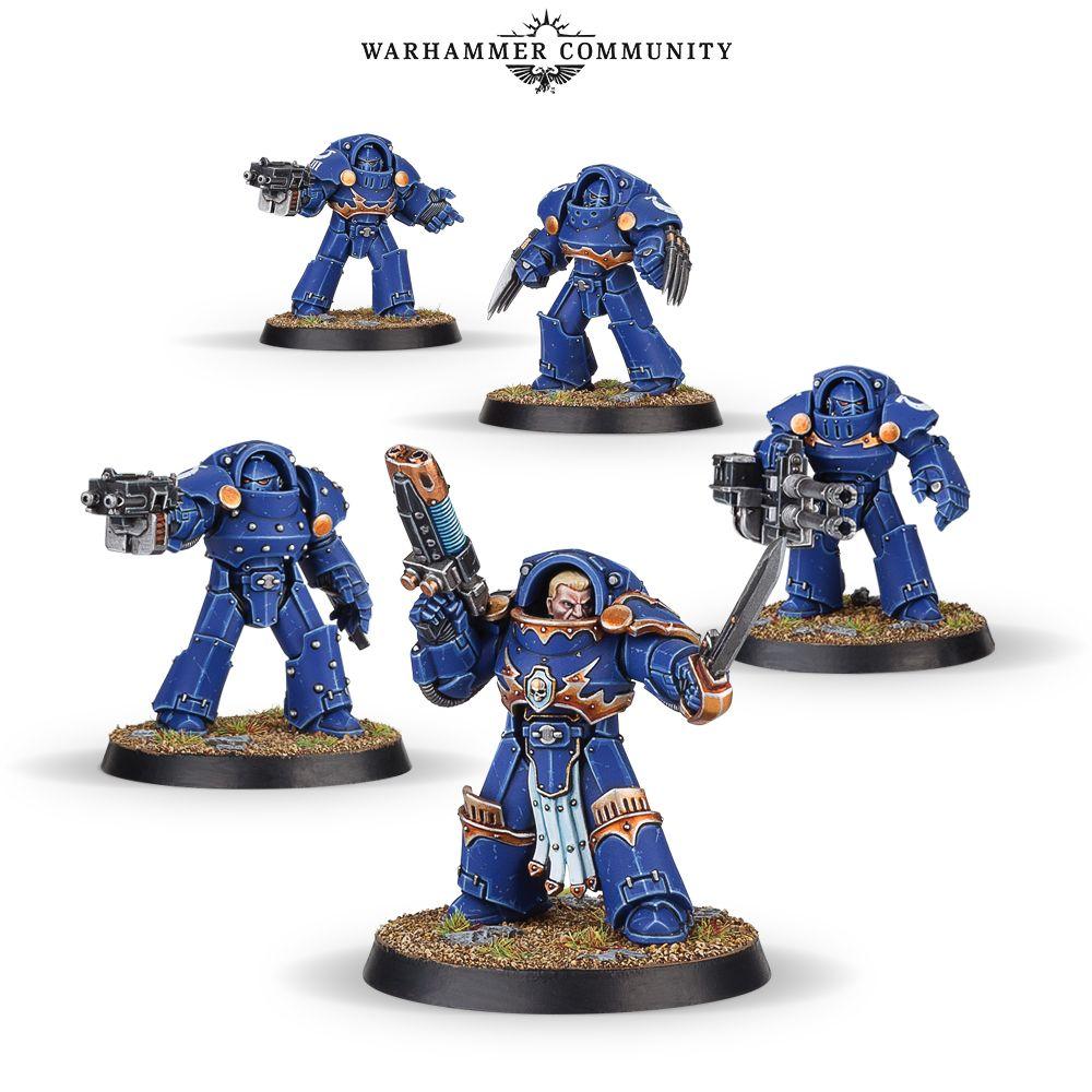 Mark III Space Marines, Tartaros Terminators