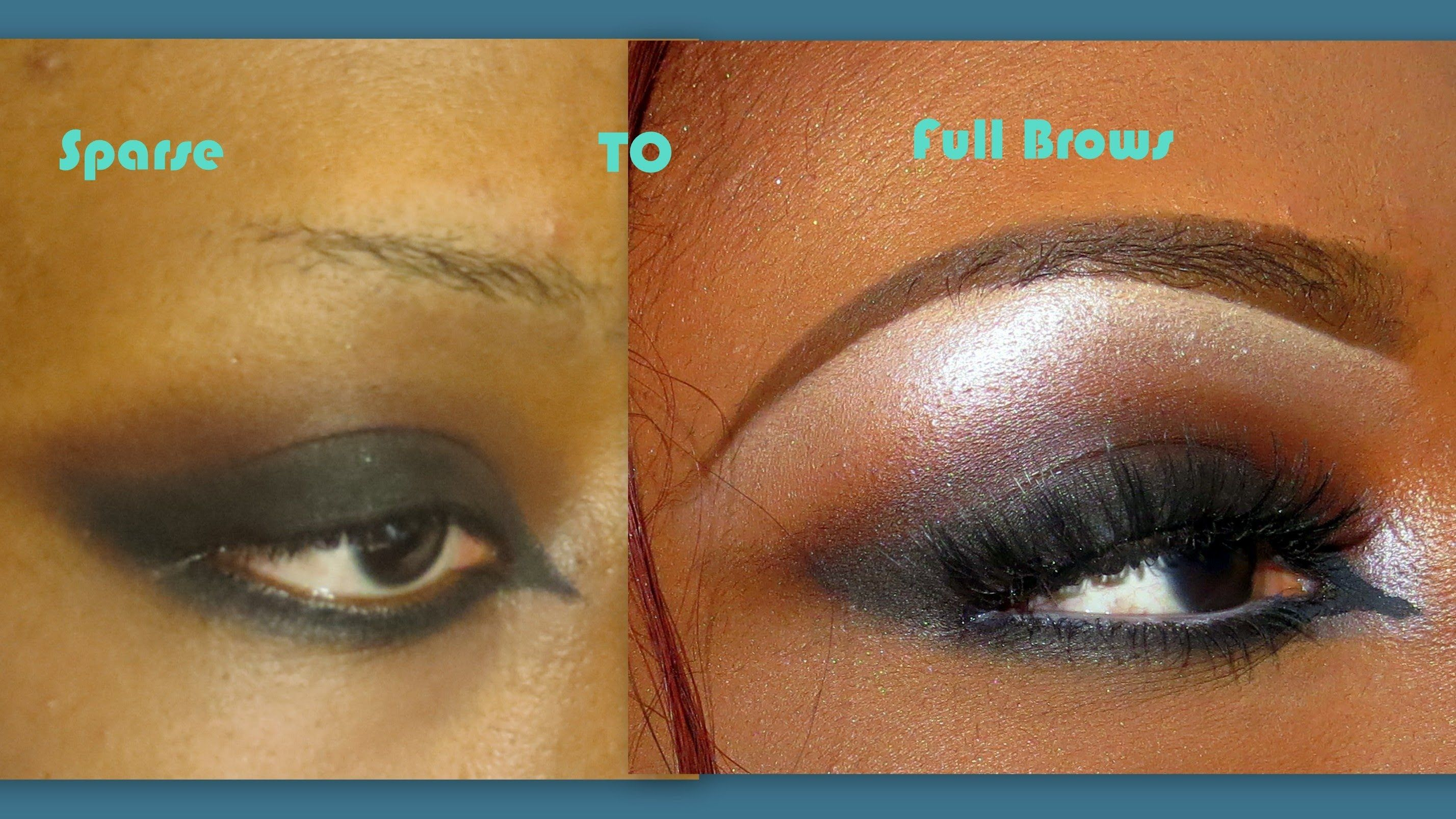 Eyebrow Tutorial For Thin Sparse Eye Brows Updated With Images