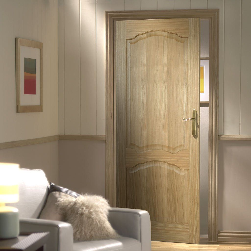 Louis 2 Panel Oak Door & Louis 2 Panel Oak Door | Oak doors