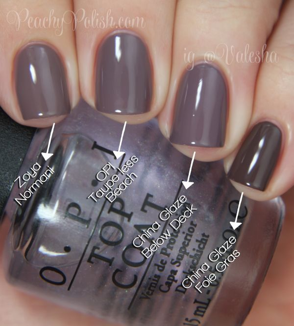 Opi Brazil Collection Comparisons Gel Nail Polish