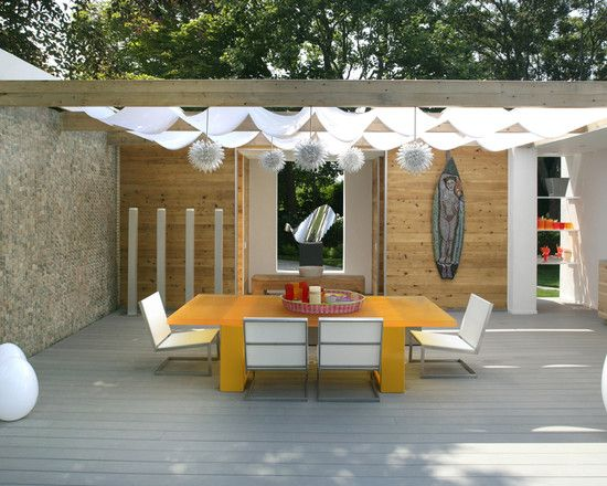 Patio Canvas Awning Design Pictures Remodel Decor And Ideas Page 42 Outdoor Awnings Modern Patio Patio