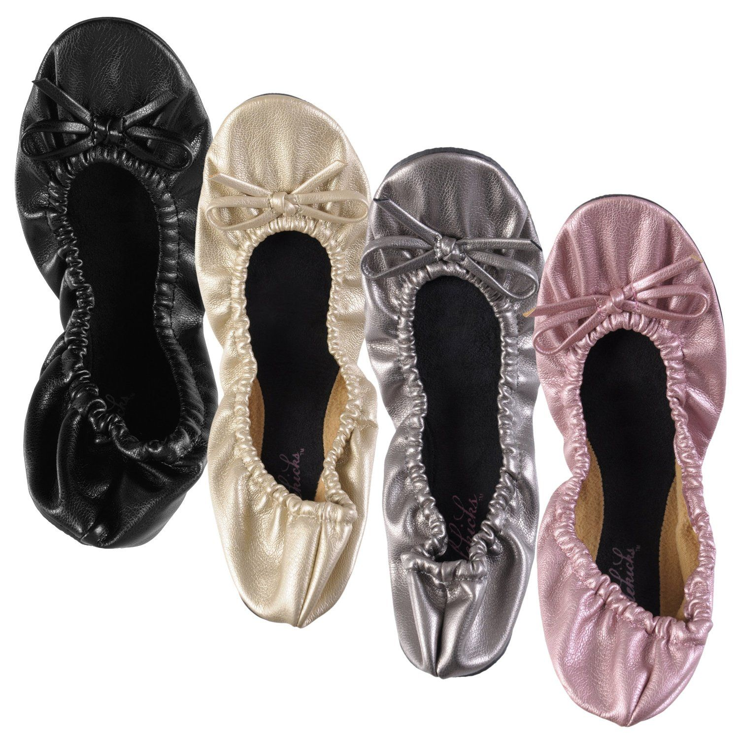 Portable Ballet Flat Shoes
