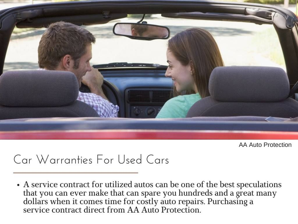 AA Auto Protection is a Vehicle Service Contract broker