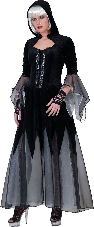 Disfraz de caperucita gótica mujer Halloween - Disfraces para adultos, Moda estilo, Halloween ...