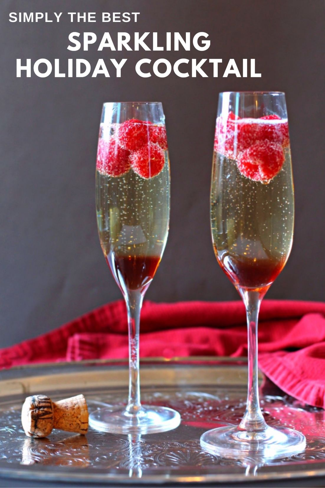 Prosecco Cocktail Made With Chambord Raspberry Liqueur And Fresh Raspberries Recipe In 2020 Raspberry Liqueur Prosecco Cocktails Champagne Recipes Cocktails