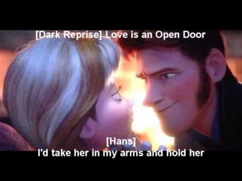 Dark Reprise Love Is An Open Door Frozen Disney Funny Frozen Memes Funny Disney Jokes