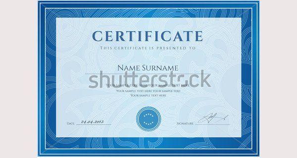 50 Creative Custom Certificate Design Templates Free \ Premium - creative certificate designs