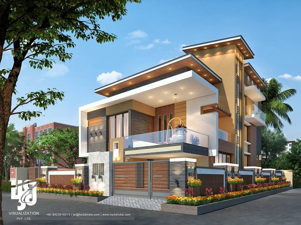 Image May Contain Tree House Sky Plant And Outdoor Modern Exterior House Designs Modern Bungalow Exterior Small House Elevation Design