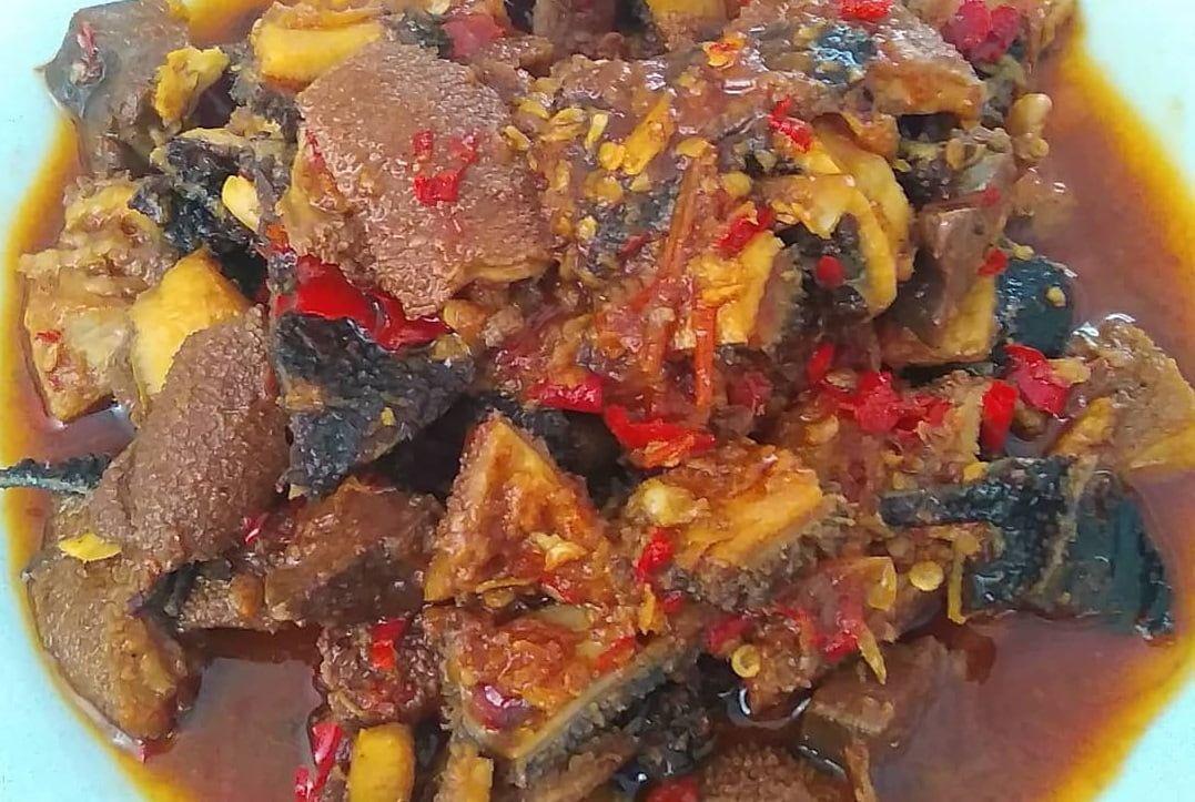 Resep Babat Gongso Semarang Enak Bikin Yuk Resep Di 2020 Makan Siang Resep Resep Masakan