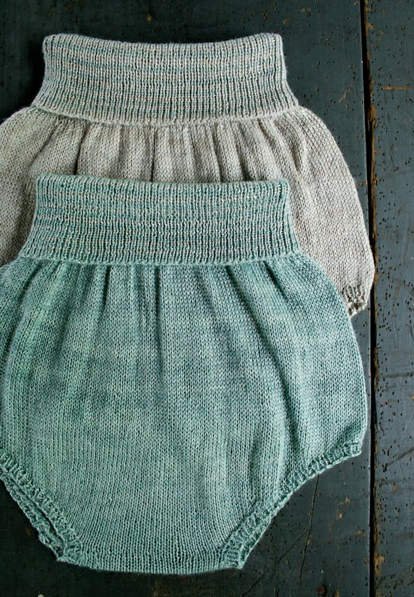 Whit's Knits: Baby Bloomers - Purl Soho - Knitting Crochet Sewing Embroidery Crafts Patterns and Ideas!