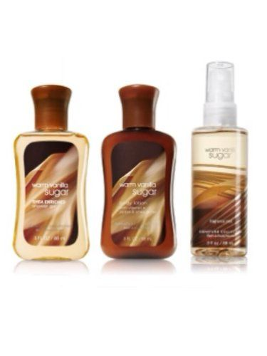 Bath and Body Works Warm Vanilla Gift Set for Women - Gifts of Love