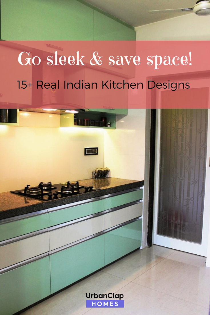 15 Indian Kitchen Design Images From Real Homes Design Homes Images Indian Kitchen Real In 2020 Kitchen Design Small Kitchen Modular Kitchen Design Small Space