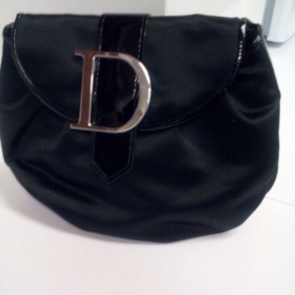 Christian Dior Black Pouch Cute Satin Dior Perfume Pouch Dior Bags